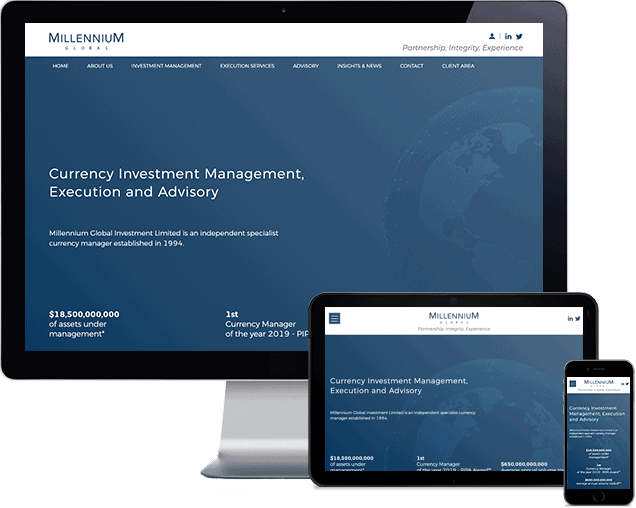 Millenium Global Investments Ltd New Website