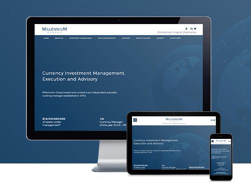 Millenium Global Investments Ltd New Website