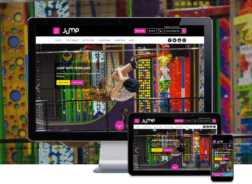 Jump Street Wordpress Website Design