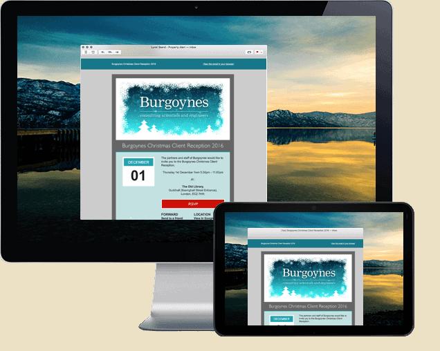 Burgoynes Mailchimp HTML Email
